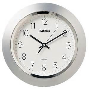 Dainolite quartz clock by oj commerce 29012 mt sv 35 25