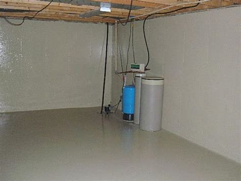 how to waterproof basement floor basement waterproofing ideas incorporating finishing