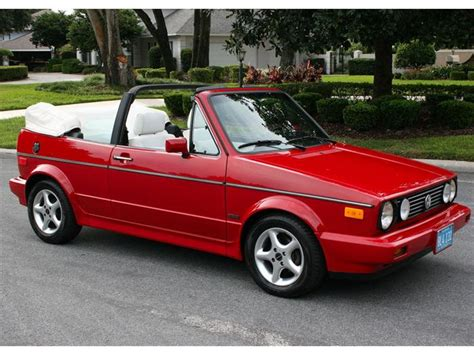 1988 volkswagen golf rabbit cabriolet classic volkswagen cabrio 1988 for sale 1988 volkswagen cabriolet information and photos momentcar