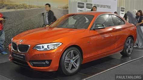 bmw 1 series price malaysia bmw 2 series coupe launched in malaysia 220i from rm260k