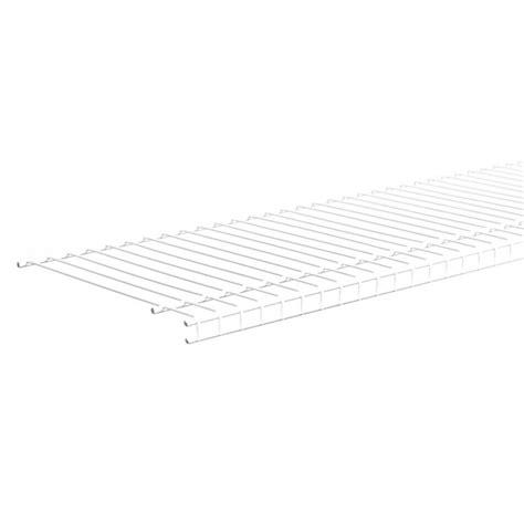 Closetmaid Superslide Shelf Closetmaid 8 Ft Superslide Wire Shelf By Closetmaid At
