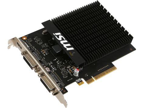 msi geforce gt 710 2gb h2d videocardz net
