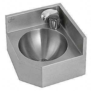 Faucet Aw Rucika 12 Inch Just Manufacturing Corner Bathroom Sink Wall 12 3 4 In L