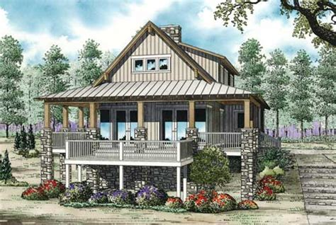 Coastal Style House Plans 2206 Square Foot Home 2 Coastal Cottage Style House Plans