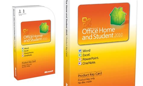 microsoft office home and student 2010 groupon