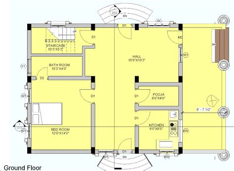 ground floor plan vastu plan ground floor house plans 53037