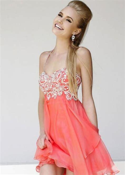 Wedding Hair And Makeup Orange Al by Coral Wedding Coral Prom Dress 2012532 Weddbook