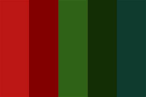 december color colors of december color palette