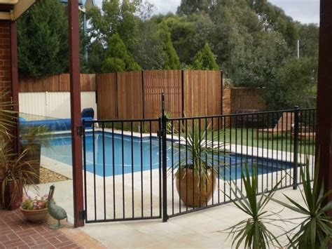Design For Pool Fencing Ideas Bamboo Fence Ideas Around Pools Landscaping Gardening Ideas