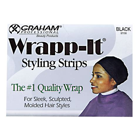 How To Weave Hair Using Wrappit Styling Strips | wrapp it black styling strips
