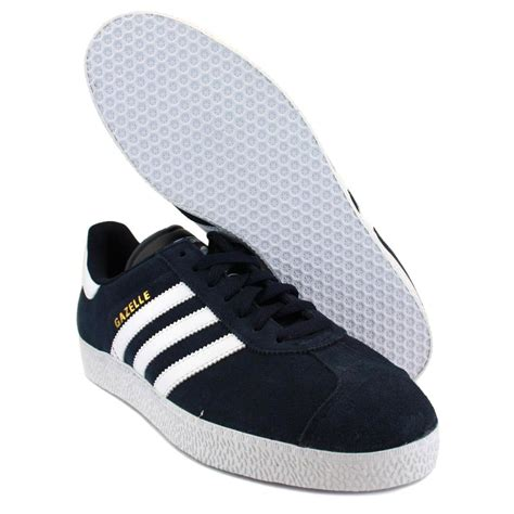 Adidas Gazelle Ii Navy adidas gazelle 2 q23101 mens laced suede trainers navy white
