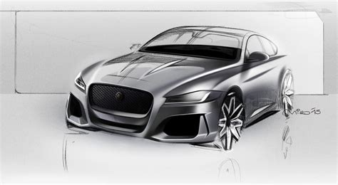 exterior design of car jaguar car sketch www pixshark com images galleries