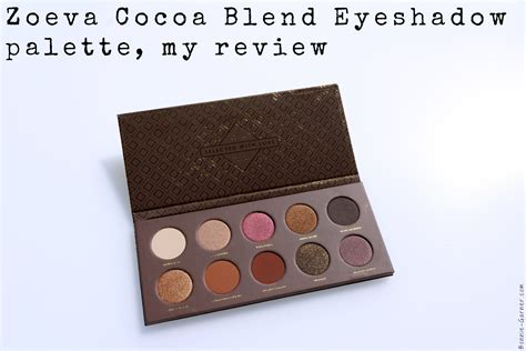 Zoeva Eyeshadow Palette Review zoeva cocoa blend eyeshadow palette my review