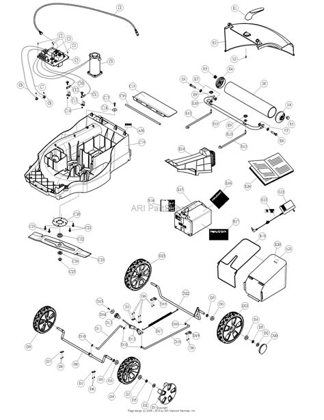 wiring diagram for neuton mower murray mower