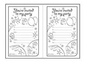 View and print the quot birthday party invitation templates quot activity