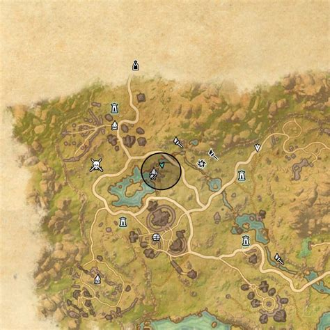 deshaan treasure map deshaan treasure map ii location eso