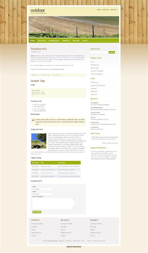 css templates for business websites free download outdoor business css template download over millions