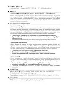 Sle Resume After Career by Career Plans For Resume