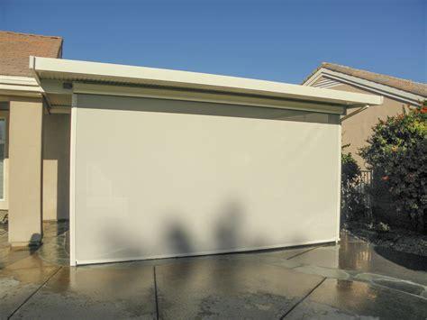 drop down awnings drop screen photos valley patios custom patio covers