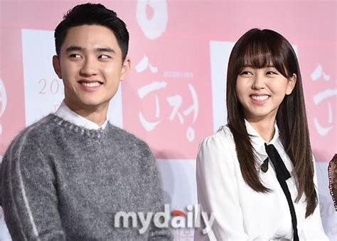 download film do exo pure love do and kim so hyun hold movie conference for pure love