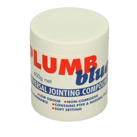 Jointing Compound Plumbing plumb blue universal jointing compound 400g