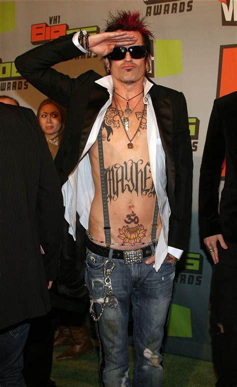 tommy lee tattoos celebritiestattooed com