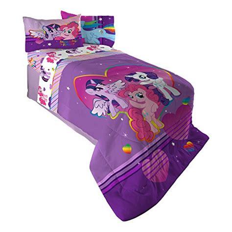 my little pony full comforter hasbro ml4398 my little pony ponyfied reversible comforter