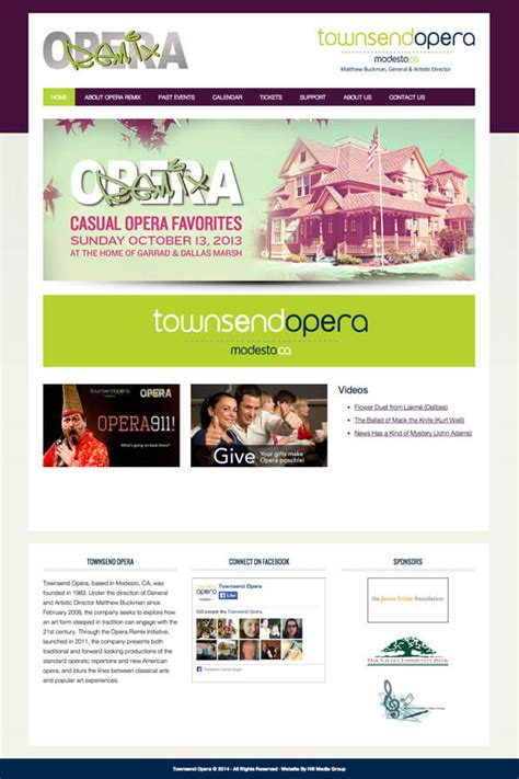 remix design group home store opera remix hill media group modesto web design