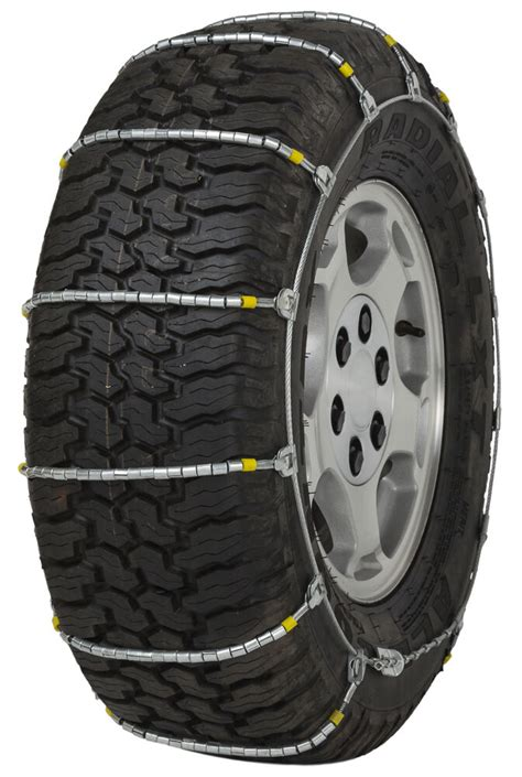 cobra jr cable tire chains snow traction suv light truck ice ebay