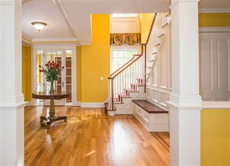 Yellow Foyer by Yellow Entryway Paint Ideas The Best Picks For Your