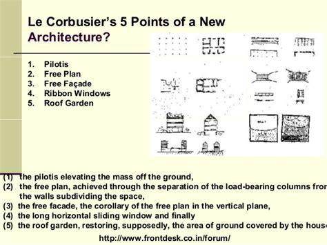 Urban Vertical Garden - philosophies of le corbusier