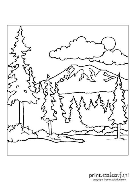rainforest background coloring page coloring pages mountain az coloring pages
