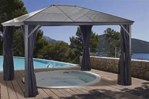 Sojag 10 X 14 Gazebo by Sojag Verona Hard Top Gazebo 10x14 With Polycarbonate Roof