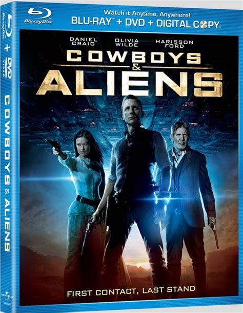 sinopsis film cowboy and alien review cowboys aliens dvd and blu ray sci fi bulletin