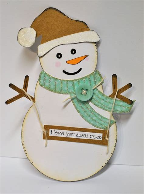 snowman templates for cards the cutting cafe snowman shaped card
