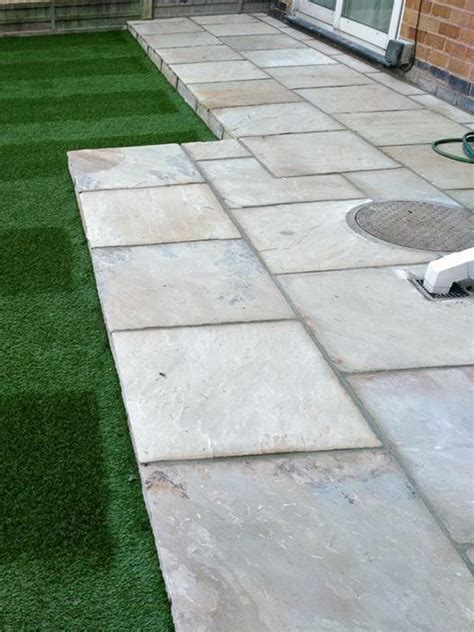 Patio Pack by Rustic Mint Fossil Patio Paving Pack 163 19 99 Inc Vat Free