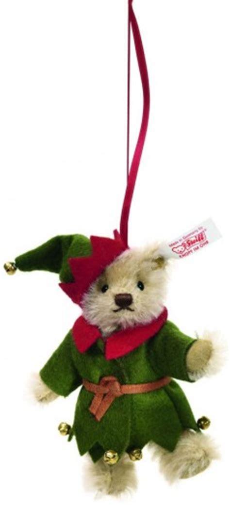 steiff christmas ornaments steiff teddy bear elf christmas