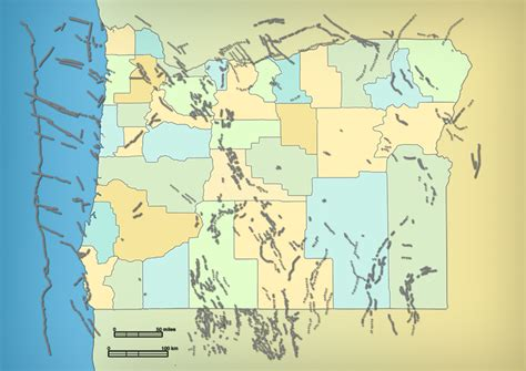 map of oregon earthquake zones 14 the of state and local government living with