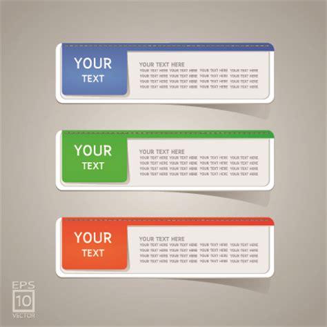 design label sticker colored sticker label design vector 04 over millions