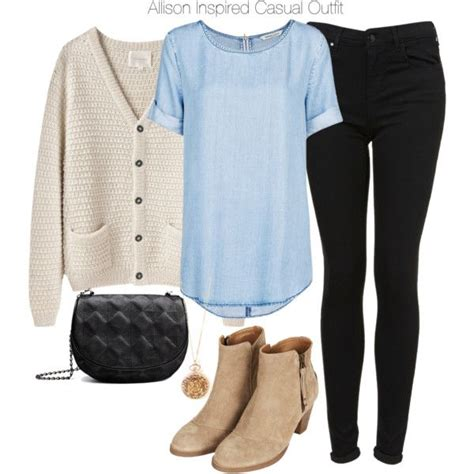 Greenblueblack Comfy Casual Top 22117 allison argent inspired fall winter fashion