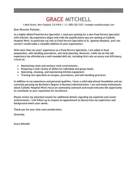 cover letter for customer service specialist cover letter for a customer service specialist