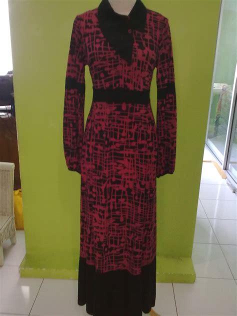 Busana Muslim Wanita Srt 355 gamis taqeeya kedai bajoe
