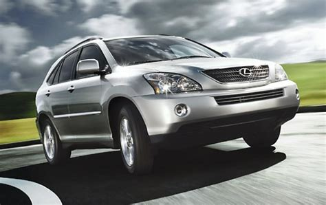 lexus rx 400 hybrid 2006 lexus rx 400h information and photos zombiedrive