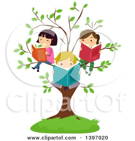 the tree limb books free retro clipart illustration of a sitting on chair