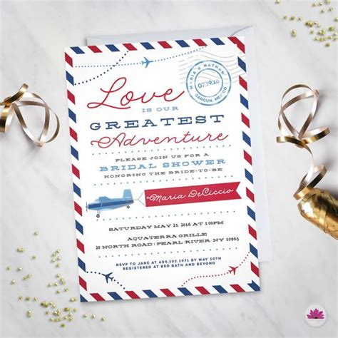 Destination Wedding Bridal Shower Invitations by The World S Catalog Of Ideas
