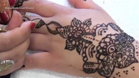 henna tattoo on youtube henna alternating and black henna