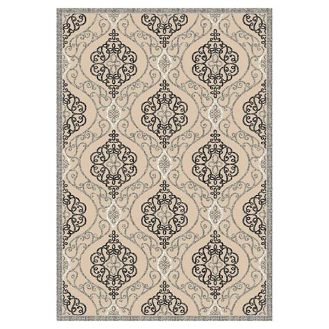 3 foot area rugs kas rugs grand bazaar sand grey 2 ft x 3 ft 7 in area rug ann87242x37 the home depot