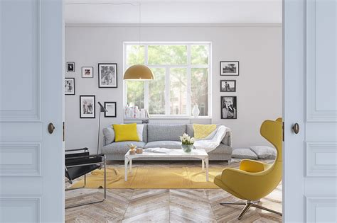 yellow living rooms 25 gorgeous yellow accent living rooms
