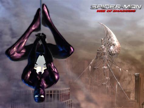 imagenes de spiderman web of shadows black suit spider man web of shadows wiki fandom