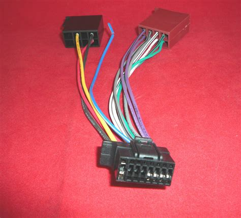 ctso sony  pin iso  style wiring harness lead cable adapter cdx gtmp ebay